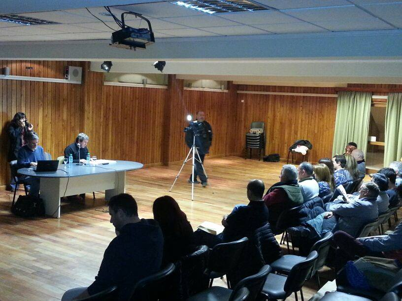 Presentacion con Lorenzo Trochita y La Hoya
