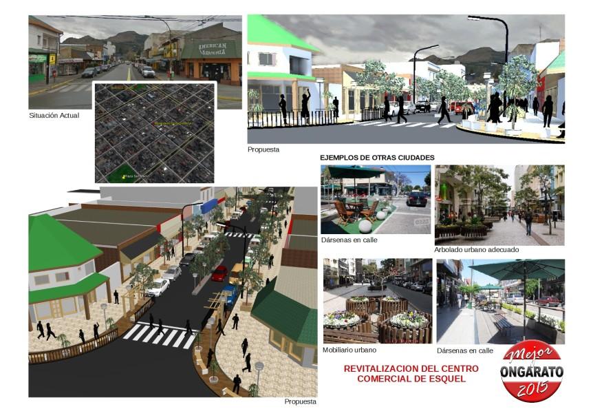 Revitalizacion Centro 25 de Mayo Lamina